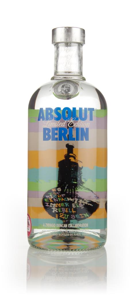 Absolut Berlin Plain Vodka