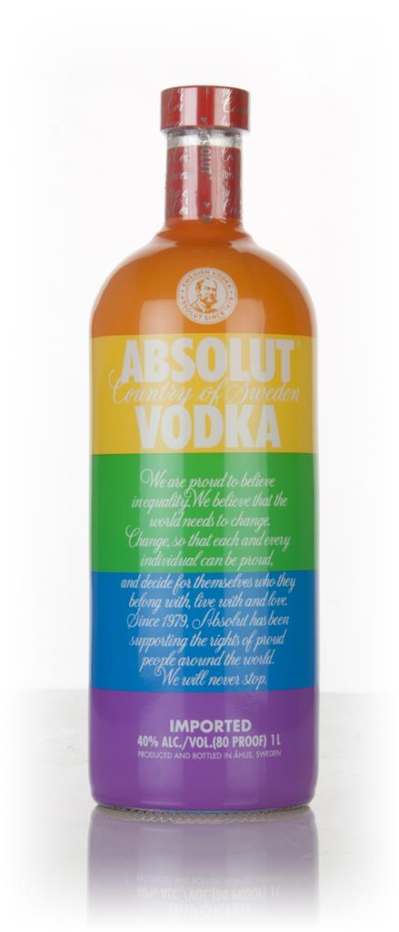 Absolut Colours Edition 1l Plain Vodka