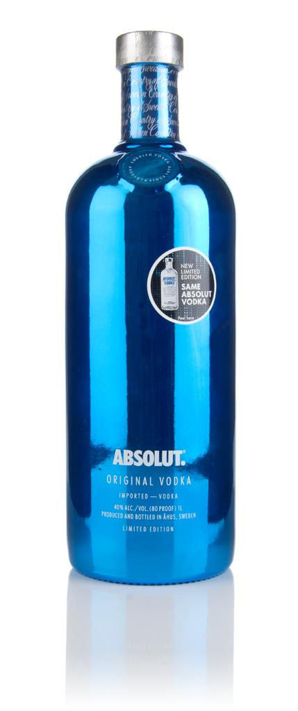 Absolut Electrik 1l - Blue Plain Vodka