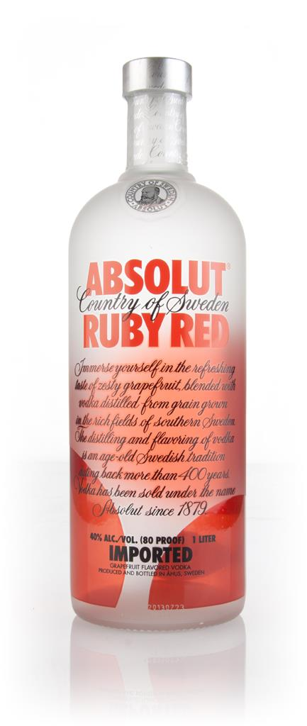 Absolut Ruby Red 1l Flavoured Vodka