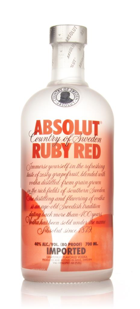 Absolut Ruby Red Flavoured Vodka