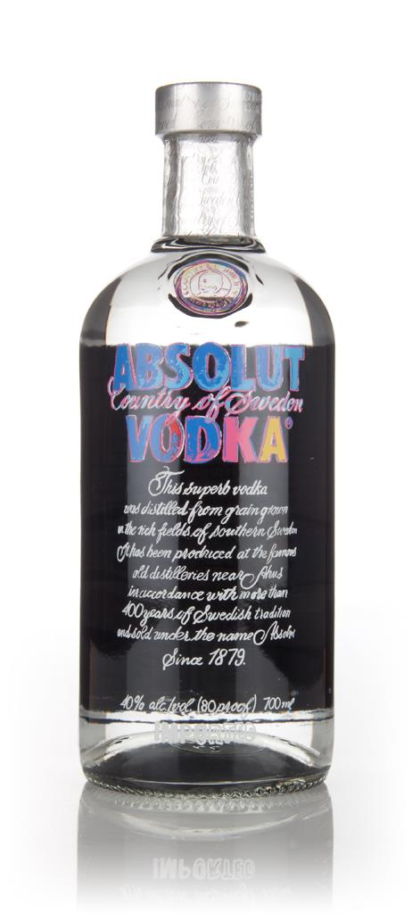 Absolut Vodka - Andy Warhol Edition Plain Vodka