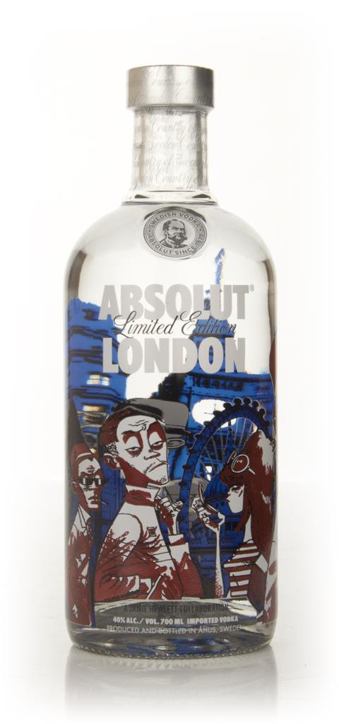 Absolut London Plain Vodka