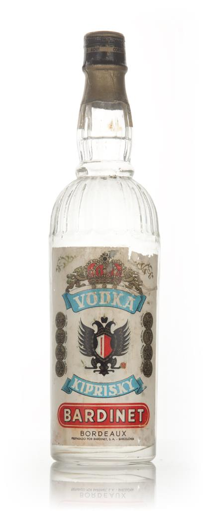 Bardinet Kiprisky Vodka - 1960s Plain Vodka
