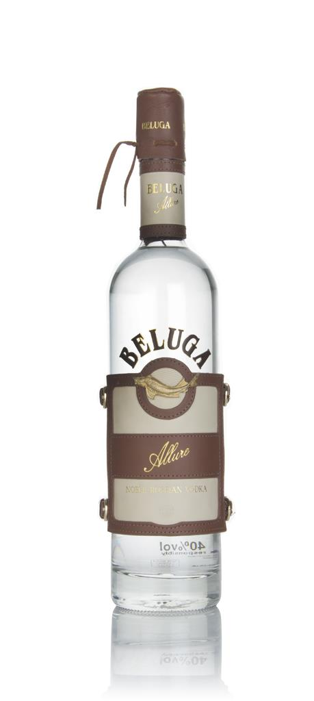 Beluga Allure Vodka with Leather Case Plain Vodka