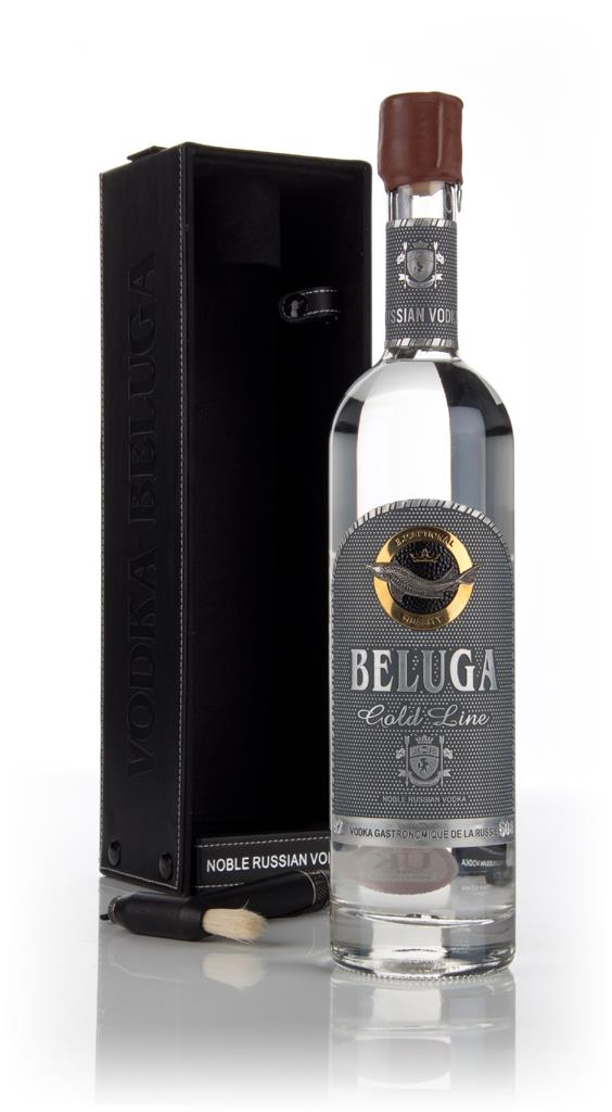 Beluga Gold Line with Leather Gift Box Plain Vodka