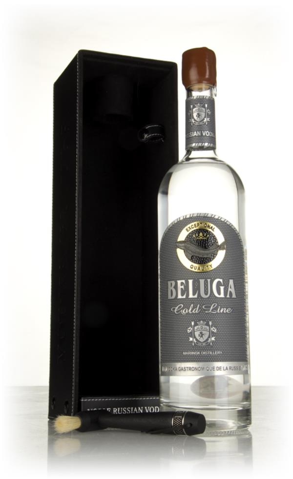 Beluga Gold Line with Leather Gift Box (1L) Plain Vodka