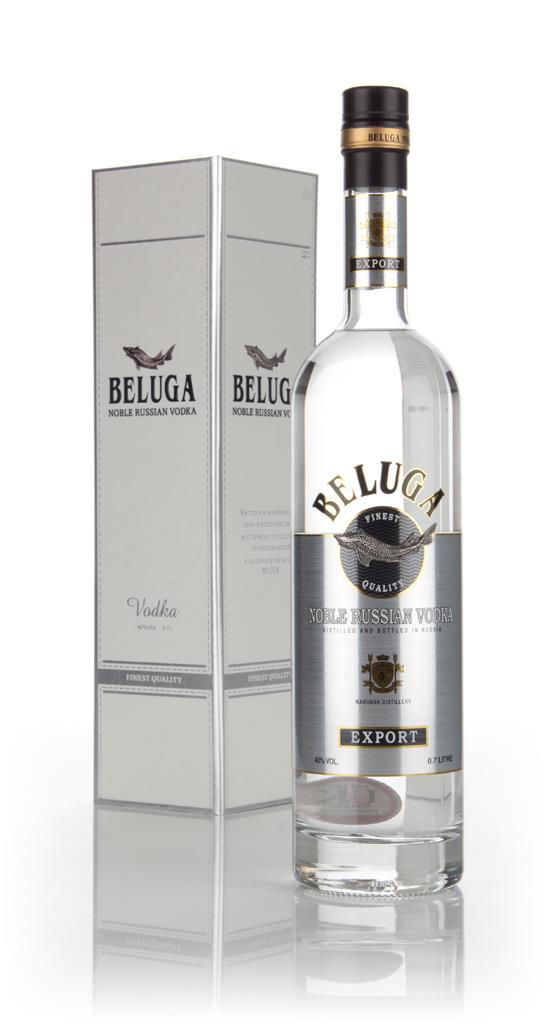 Beluga Noble Russian Vodka (boxed) Plain Vodka