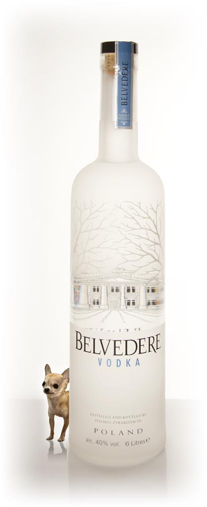 Belvedere Vodka with Light 6l Plain Vodka