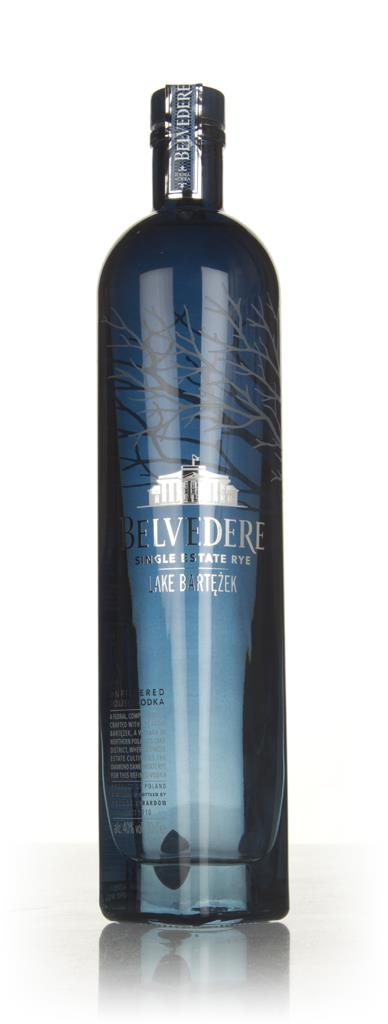 Belvedere Single Estate Rye Vodka - Lake Bartezek Plain Vodka