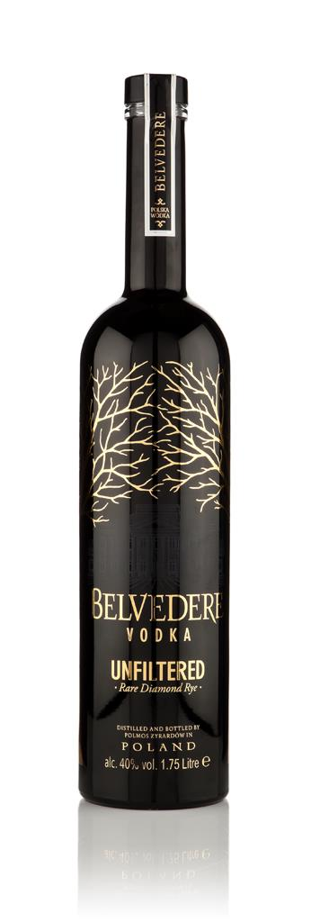 Belvedere Unfiltered Vodka 1.75l Plain Vodka