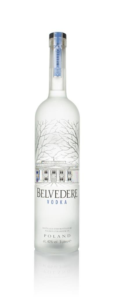 Belvedere Vodka with Light (3L) Plain Vodka
