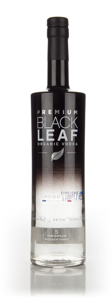 Black Leaf Premium Organic Plain Vodka