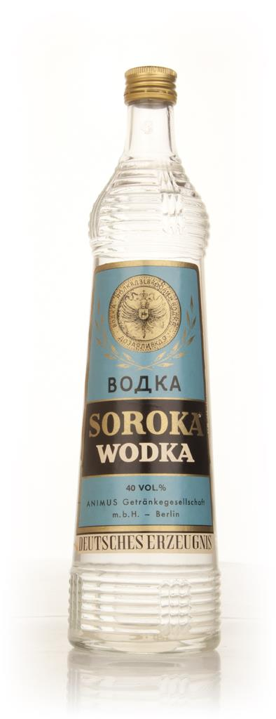 Soroka Vodka - 1970s Plain Vodka