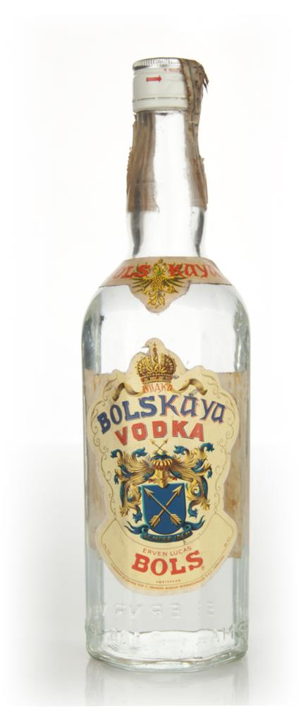 Bolskaya Vodka - 1970s Plain Vodka
