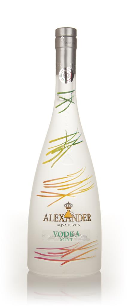 Alexander Colors Mint Flavoured Vodka