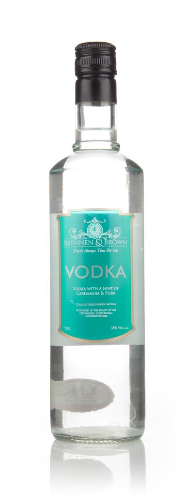 Brennen & Brown Vodka with a Hint of Cardamom & Plum Flavoured Vodka