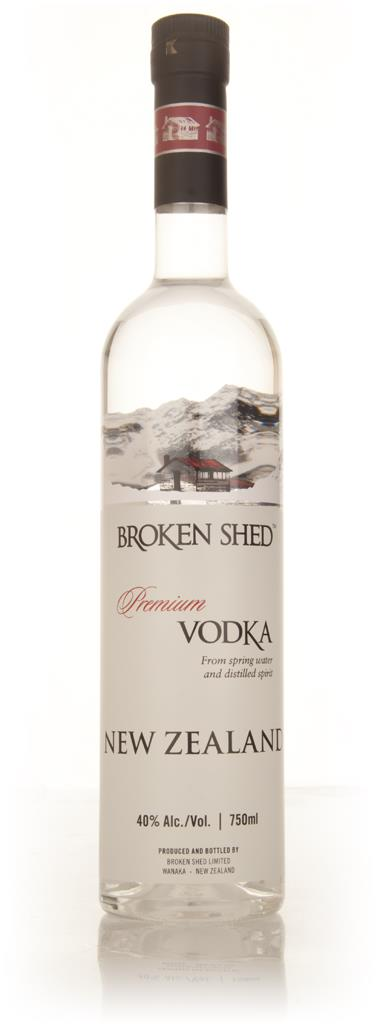 Broken Shed New Zealand Plain Vodka