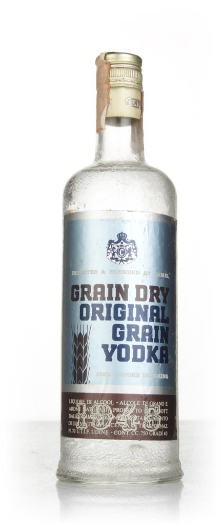 Camel Original Grain Vodka - 1970s Plain Vodka