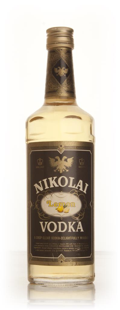 Nikolai Lemon Vodka - 1979 Flavoured Vodka