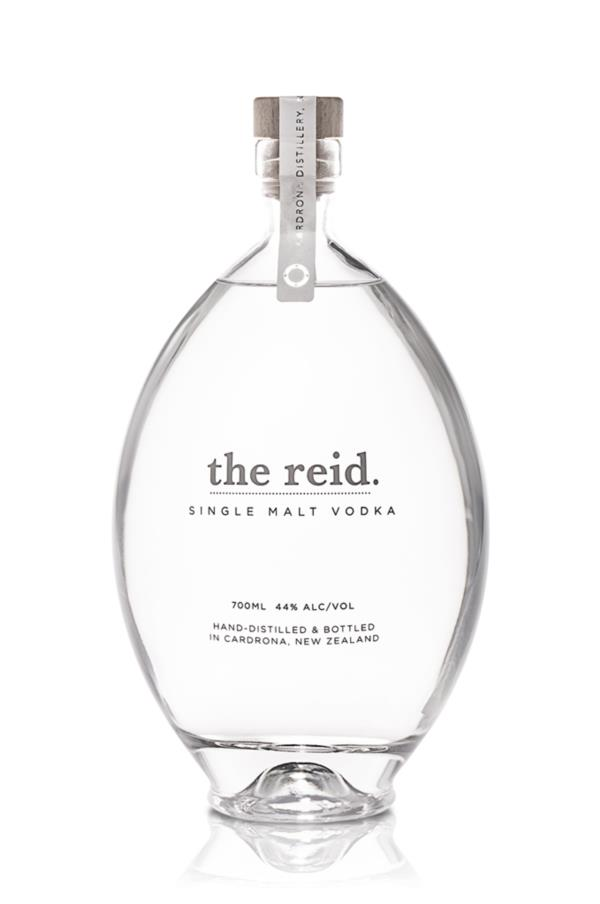 the reid Single Malt Plain Vodka