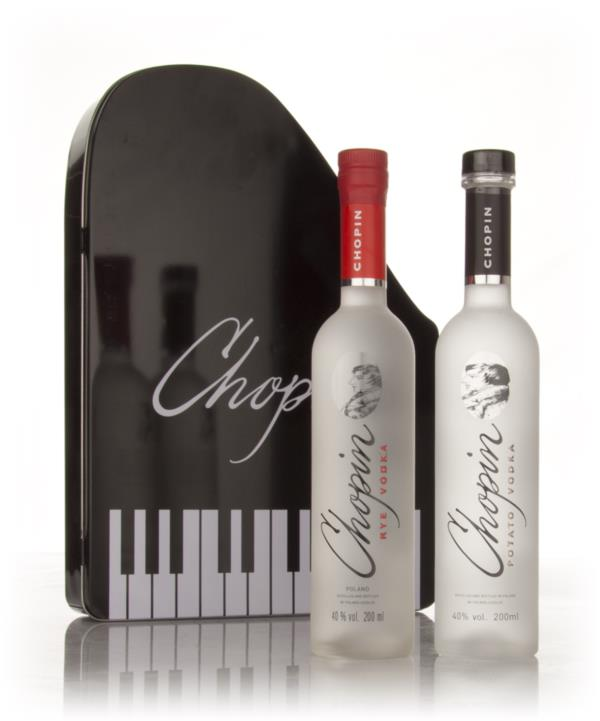 Chopin Rye Vodka and Potato Vodka Gift Set Plain Vodka