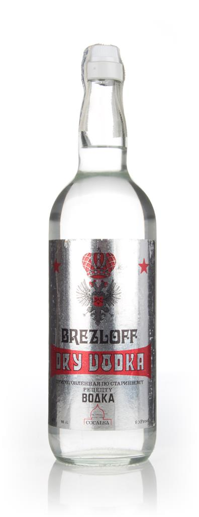 Cocalsa Brezloff Dry Vodka - 1980s Plain Vodka