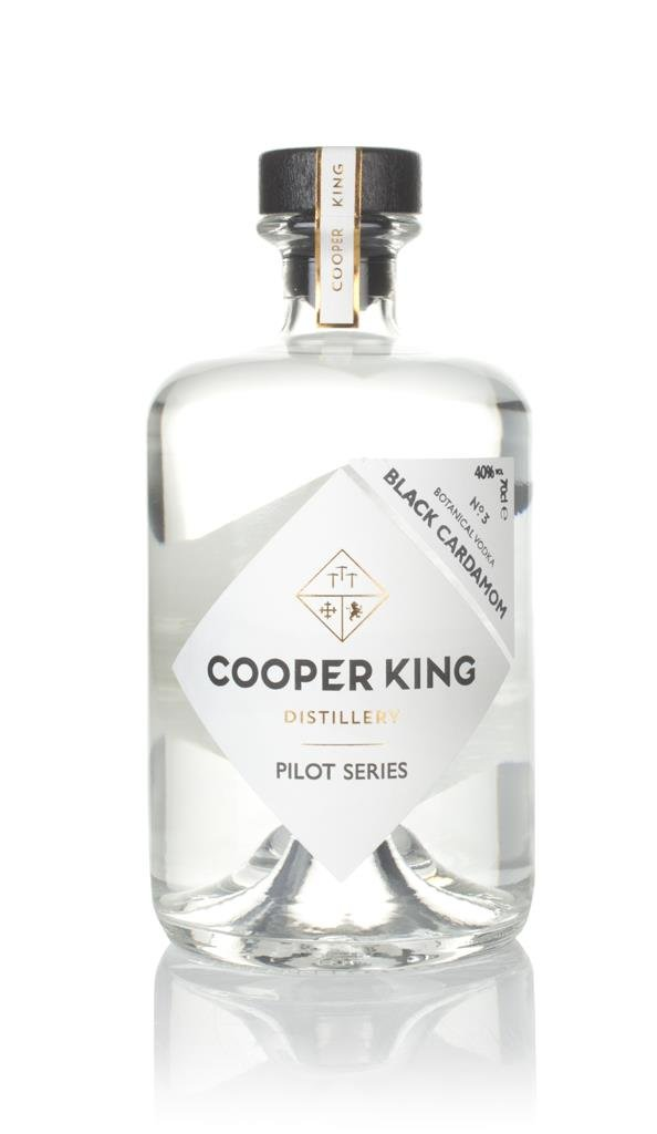 Cooper King Black Cardamom Vodka - Pilot Series Flavoured Vodka