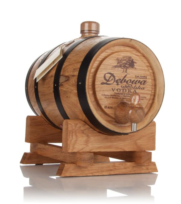 Debowa Polish Oak Vodka Barrel (Black Hoops) Plain Vodka