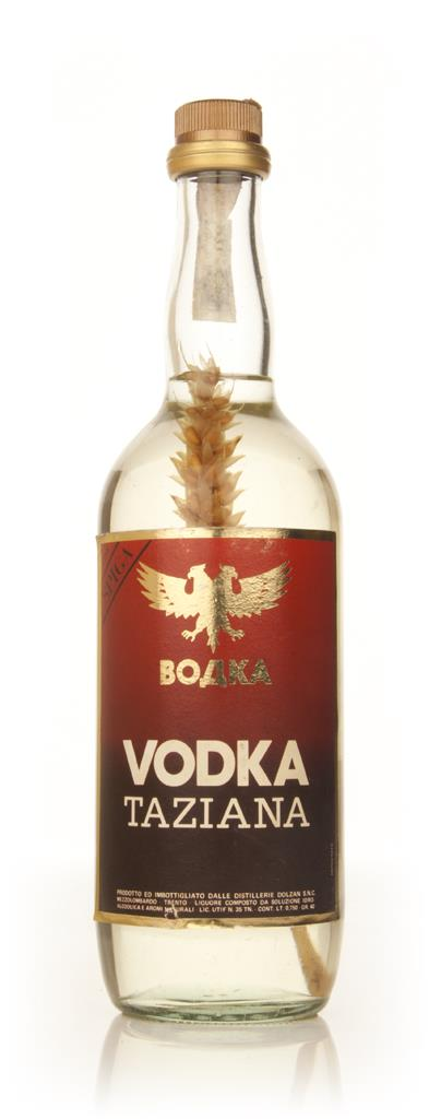 Taziana Vodka - 1970s Plain Vodka