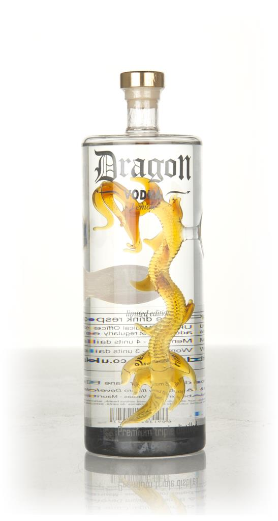 Dragon Vodka Lemon Flavoured Vodka