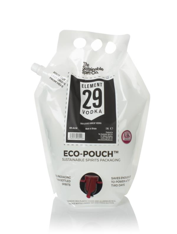 Element 29 Vodka Eco-Pouch (The Sustainable Spirit Co.) Plain Vodka