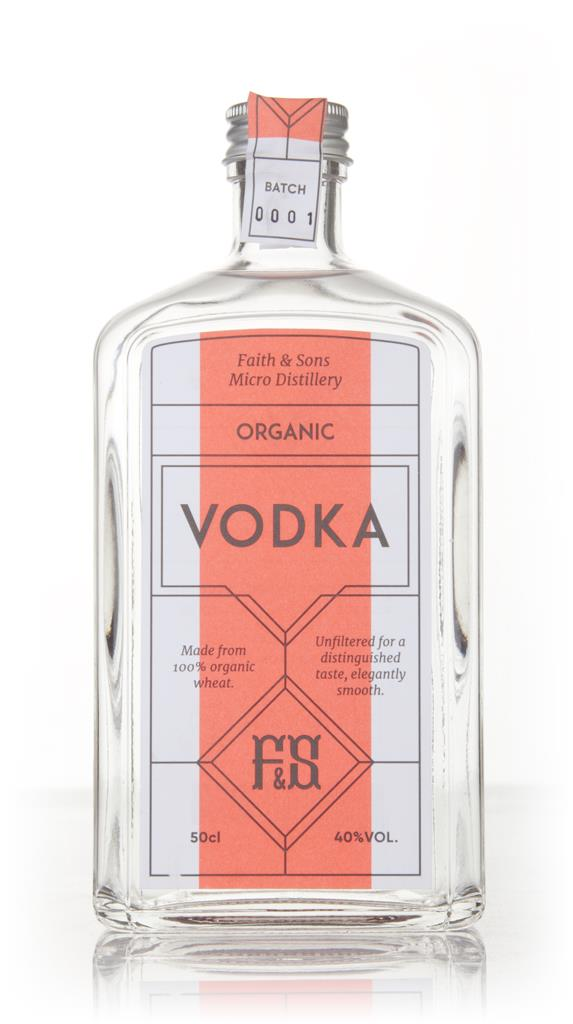 Faith & Sons Organic Plain Vodka
