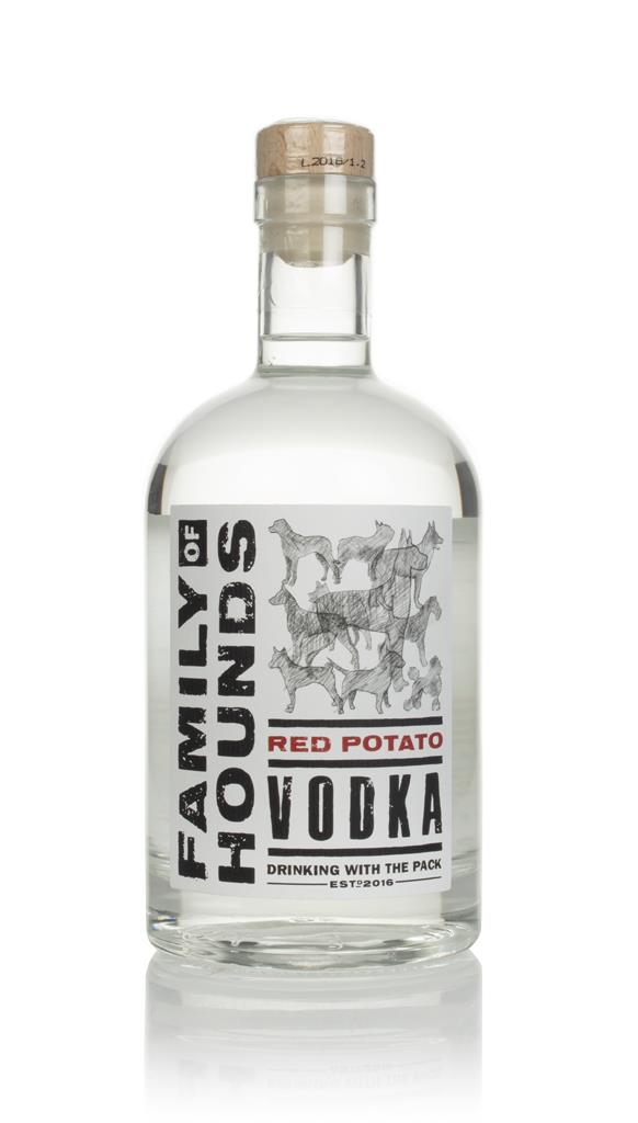 Family of Hounds Red Potato Plain Vodka