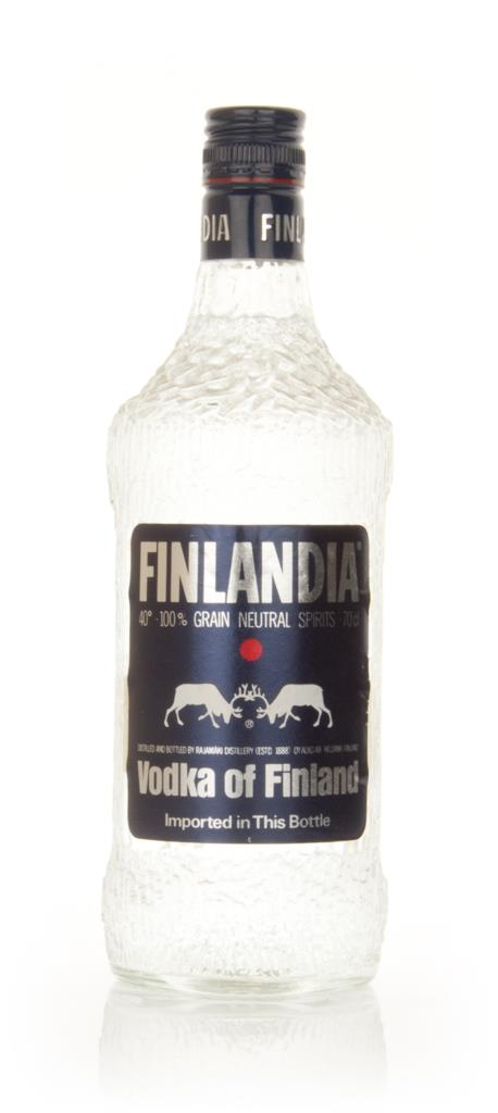 Finlandia Vodka - 1970s Plain Vodka