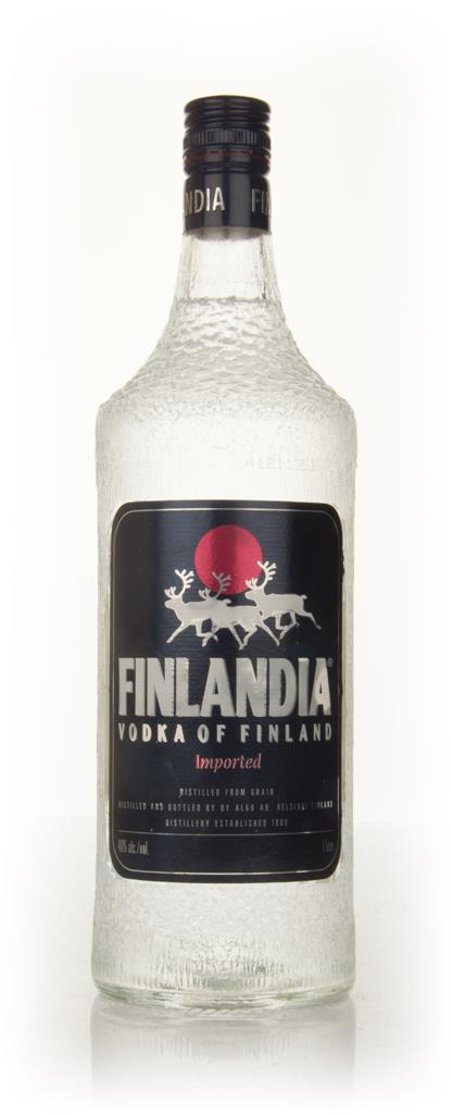 Finlandia Vodka - early 1980s Plain Vodka
