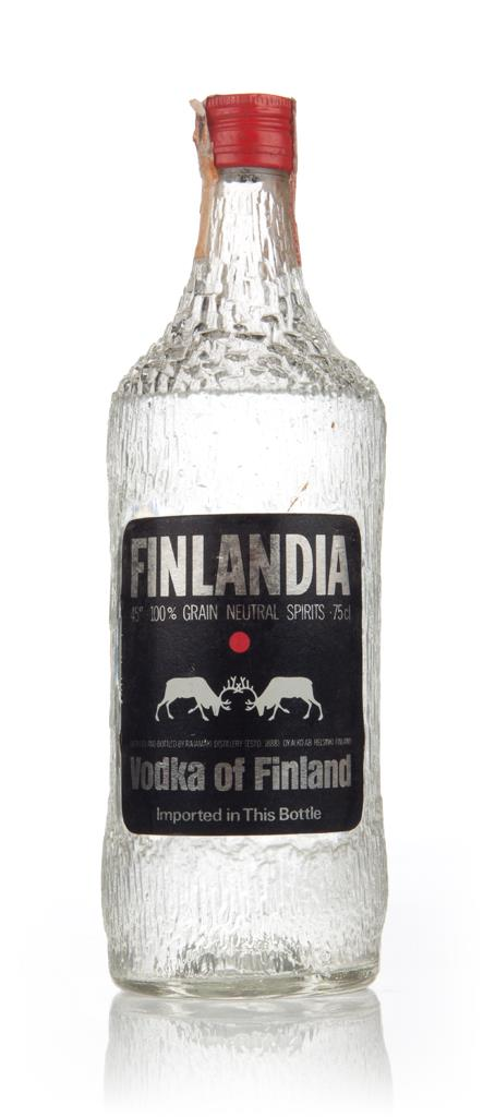 Finlandia Vodka 75cl - 1970s Plain Vodka