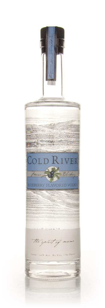 Cold River Blueberry Flavoured Vodka