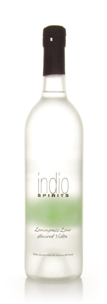 Indio Spirits Lemongrass Lime Flavored Flavoured Vodka