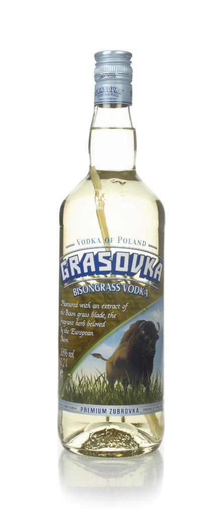 Grasovka Bisongrass Flavoured Vodka