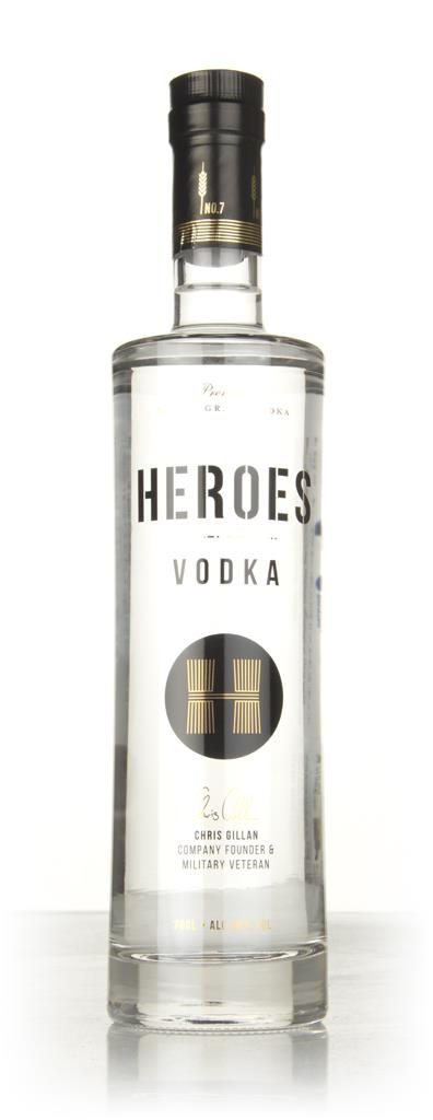 Heroes Plain Vodka