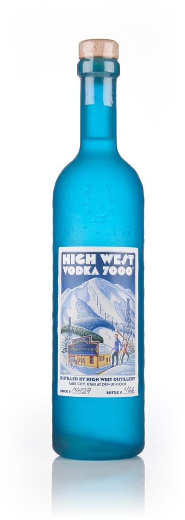 High West Vodka 7000' (70cl) Plain Vodka