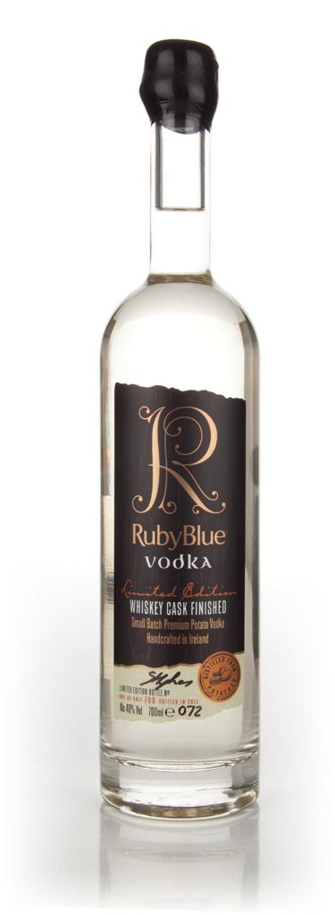 RubyBlue Vodka - Whiskey Cask Finished Cask Aged Vodka