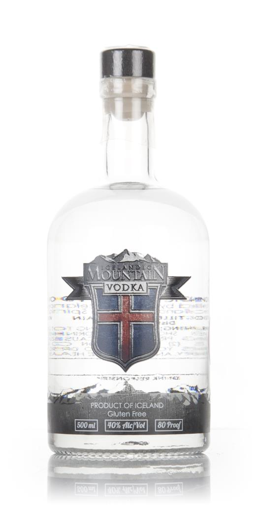 Icelandic Mountain Vodka (50cl) Plain Vodka