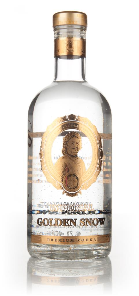 Imperial Collection Golden Snow Plain Vodka