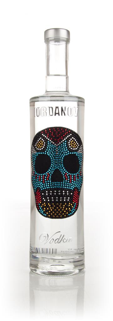Iordanov Vodka - Mexican Skull Plain Vodka