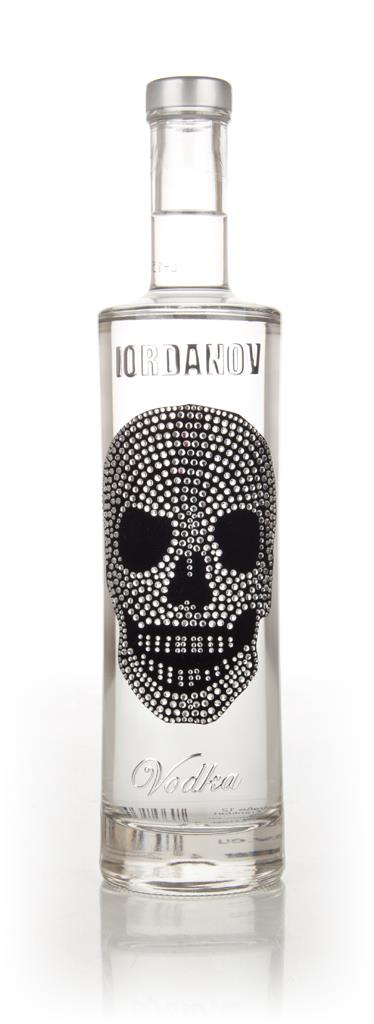 Iordanov Vodka - Silver Skull Plain Vodka