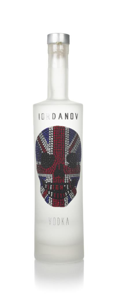Iordanov Vodka - Union Jack Skull Plain Vodka