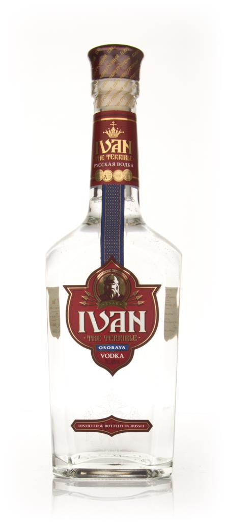 Ivan The Terrible Plain Vodka