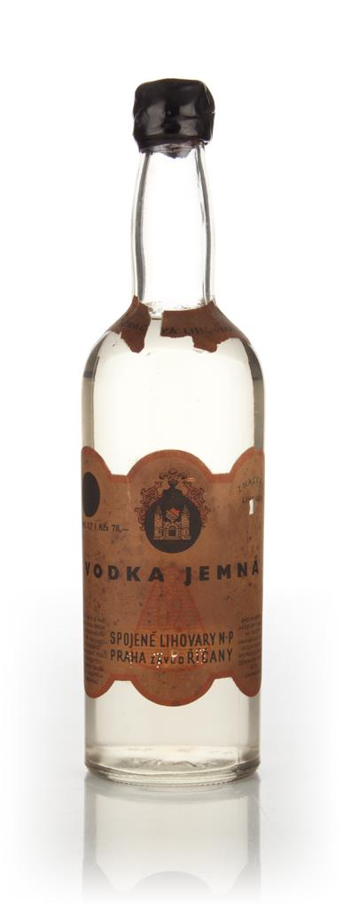 Jemna Czech Vodka - 1950s Plain Vodka